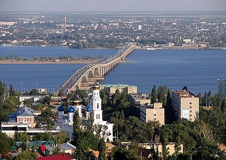 Saratov city view, Russia