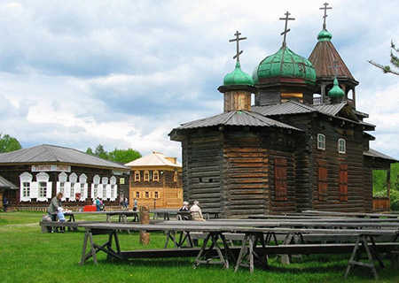 Wooden architecture, Russia
