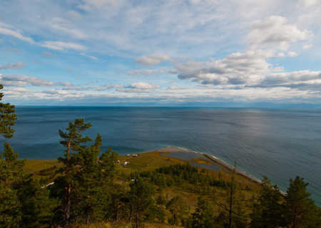 The Baikal Lake view, Russia