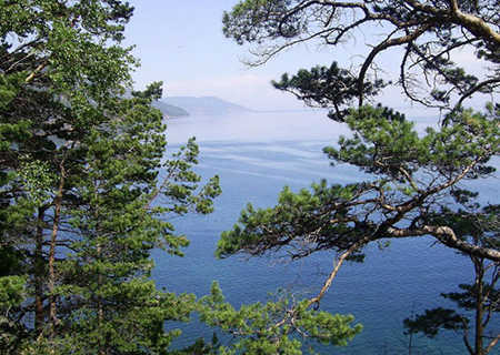 The Baikal Lake, Russia