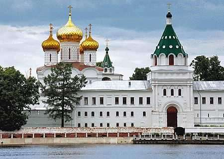 The Ipatiev Monastery in Kostroma, Russia