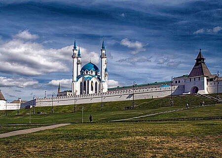 Kazan Kremlin and  Kul Sharif Mosque, Russia
