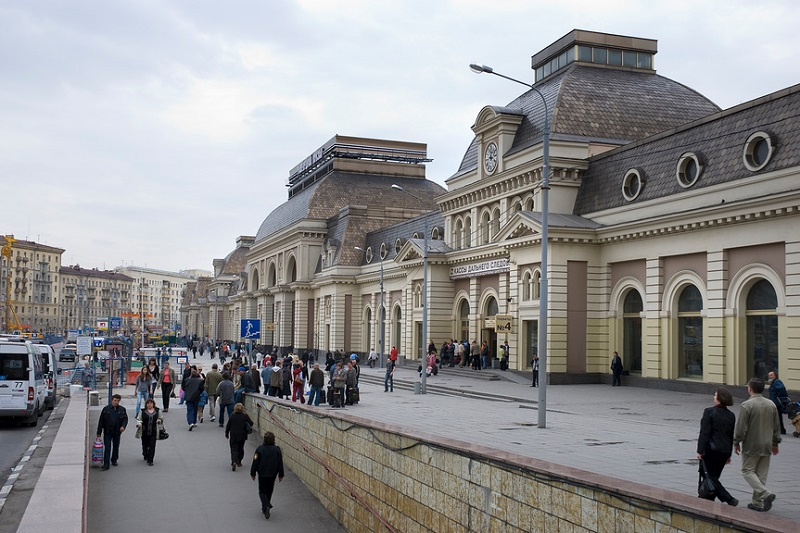 Paveletski Train Station