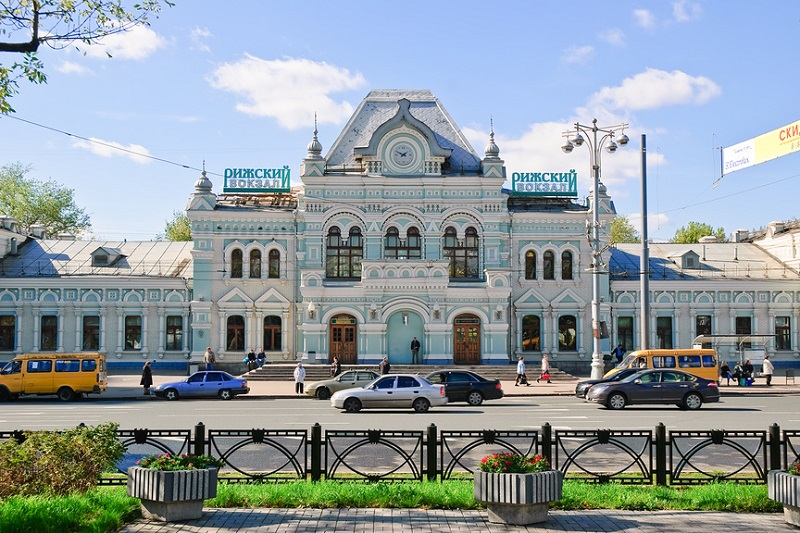 Rizhski Train Station