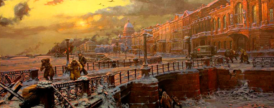 History of St  Petersburg Russia